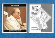 Sheffield Wednesday Ron Atkinson MG2
